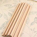 100x Milopon Crayon de Bois HB Naturel Crayon à Papier Pour Enfant Dessin Papeterie Scolaire de la marque Milopon image 2 produit