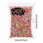 12paquets de billes colorées en polystyrène 2,5à 4,5mm - 86000pièces de la marque CCINEE image 1 produit