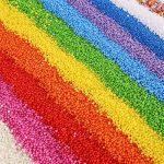 12paquets de billes colorées en polystyrène 2,5à 4,5mm - 86000pièces de la marque CCINEE image 2 produit