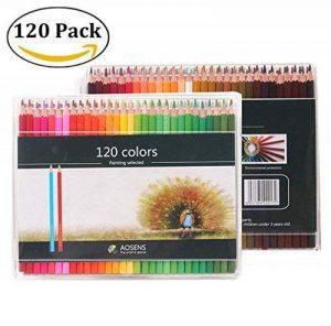 120 Crayons de couleur (aucune en double) – 120 couleurs uniques Pré-affûtée Professionnel de Haute Qualité Art Dessin crayon pour enfants, adultes et artistes croquis, peinture de la marque Mailesi image 0 produit
