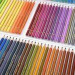 150crayons aquarelle–Ectech professionnel Crayons de couleur soluble dans l'eau pour art Dessin, croquis, livres de coloriage pour adultes de la marque ECTECH image 1 produit