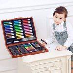 150 PCS Deluxe Crayons Peintures Stylos Crayons Sets Professionnel Enfants Art Paint Set Artiste Set Parfait pour les débutants ou les artistes en herbe Enfants Adultes de la marque HJXJXJX image 1 produit