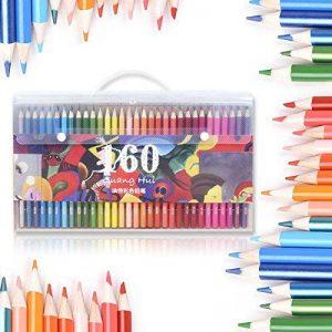 160crayons de couleur ECTECH à base d'huile, sains, non toxiques, pour dessiner de la marque ECTECH image 0 produit
