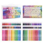 168 Crayons de couleur - 168 comptez Pré-affûtée Couleurs vives (pas de Doublons) Art Dessin Ensemble de crayons de couleur pour des livres de de la marque Wanshui image 1 produit