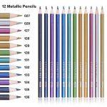 168 Crayons de couleur - 168 comptez Pré-affûtée Couleurs vives (pas de Doublons) Art Dessin Ensemble de crayons de couleur pour des livres de de la marque Wanshui image 4 produit