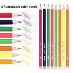 168 Crayons de couleur - 168 comptez Pré-affûtée Couleurs vives (pas de Doublons) Art Dessin Ensemble de crayons de couleur pour des livres de de la marque Wanshui image 3 produit
