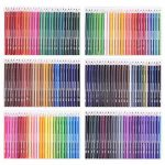 168 Crayons de couleur - 168 comptez Pré-affûtée Couleurs vives (pas de Doublons) Art Dessin Ensemble de crayons de couleur pour des livres de de la marque Wanshui image 2 produit
