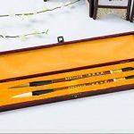 2x Pinceaux de caligrafia haute gamme de poil de Weazel itachike et de laine juumou + Coffret Bois 4321 de la marque ONOGAL image 1 produit
