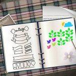 20 Pièces Bullet Journal Pochoir,Jwlife plastique Planner Pochoirs pour Journal/Agenda/Portable/Scrapbook DIY Pochoir de gabarit de dessin 10,2 x 17,8 cm de la marque Jwlife image 3 produit