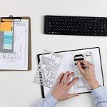 20 Pièces Bullet Journal Pochoir,Jwlife plastique Planner Pochoirs pour Journal/Agenda/Portable/Scrapbook DIY Pochoir de gabarit de dessin 10,2 x 17,8 cm de la marque Jwlife image 4 produit
