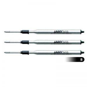 3 X Stylo bille recharge Lamy M16 Noir Large (DB00154) de la marque Lamy image 0 produit