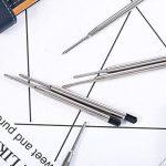 30 Pièces Stylo à Bille Remplaçable Recharges Stylo en Métal Recharge Écriture Ball Point Recharges de Stylos (Noir) de la marque Tatuo image 4 produit