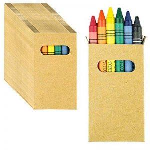 30Sets de coloriage pour coloriage. Chacun 6craies de différentes couleurs. Idéal pour cadeaux de fête d'anniversaire pour enfant. de la marque B2ACTION image 0 produit