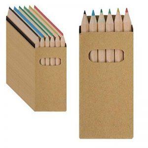 30Sets de Crayons à Colorier. Chaque avec 6crayons de différentes couleurs. Idéal pour cadeaux de fête d'anniversaire pour enfant. de la marque B2ACTION image 0 produit