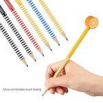 30 x crayons de bois dessin, 2 x taille-crayon kawaii, Rymall crayon a papier fantaisie de dureté de HB, crayons papier avec gomme animaux pour les enfants pour la fête d'anniversaire parti d'enfants récompenses d'école de la marque Rymall image 3 produit