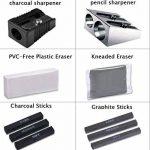 33pcs Crayons de Dessin,Lypumso Crayons Croquis Kit de Croquis Dessin avec Sac Inclus Gomme Crayon de Charbon Graphite Outils pour Dessiner de la marque Lypumso image 3 produit