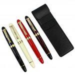 4 pièces dans la série Gullor 450 Stylo à plume en 4 couleurs (couleurs vives) avec pochette stylo original et 5 couleurs cartouche d'encre de la marque Gullor image 2 produit