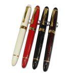4 pièces dans la série Gullor 450 Stylo à plume en 4 couleurs (couleurs vives) avec pochette stylo original et 5 couleurs cartouche d'encre de la marque Gullor image 4 produit