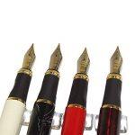 4 pièces dans la série Gullor 450 Stylo à plume en 4 couleurs (couleurs vives) avec pochette stylo original et 5 couleurs cartouche d'encre de la marque Gullor image 5 produit