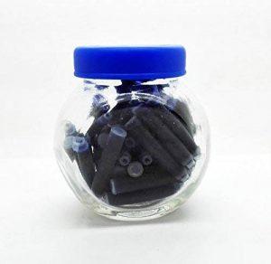 50x cartouches recharges universelle 38mm d'encre bleue pour stylo plume 7116AZ de la marque ONOGAL image 0 produit