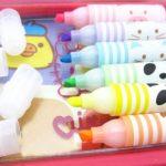 6 PCS Beau modèle animal fruité Surligneur marqueur fluorescent Pen de la marque Blancho image 1 produit