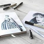 6x Faber-Castell Pitt artiste Stylos (Brosse douce) nuances de gris de la marque Faber-Castell image 1 produit