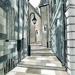 6x Faber-Castell Pitt artiste Stylos (Brosse douce) nuances de gris de la marque Faber-Castell image 4 produit