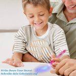 [7 Pack] Osup Invisible Disparition Encre Marqueur Stylo Secret Espion Message Writer avec UV Lumière Fun Activité pour Enfants Party Favors Idées Cadeaux et Stock Stuffers de la marque Osup image 6 produit