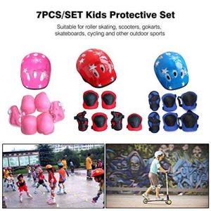 7pcs/lot enfants de protection Gear Lot de scooter Skate Roller Cyclisme genou Coudières de la marque Gugutogo image 0 produit