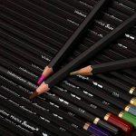 72 Crayons À Aquarelle Artify, Mine 3,8mm, Dans Une Boîte En Métal — Pour Étudiants, Professionnels Et Dessinateur Amateur — Avec Un Pinceau En Nylon Et Deux Taille-Crayons de la marque Artify Art Supplies image 4 produit