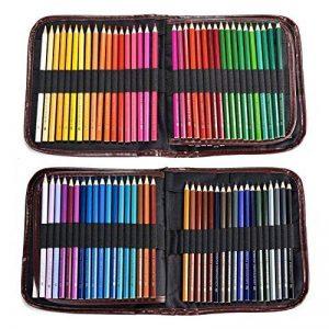 72 Crayons de Couleurs avec Un Paquet AGPTEK (aucune en double), 72 Couleurs Uniques, Crayons à Dessin Anti-cassure Pré-taillés Assorties à Base d'huile pour le Coloriage, le Dessin, l'Ecriture, les Croquis et le Gribouillage de la marque AGPTEK image 0 produit