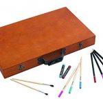 88pièces Coffret Eau de couleurs Boîte crayons de couleur Crayons de Cire Coffret Pinceau bois de la marque insp image 1 produit