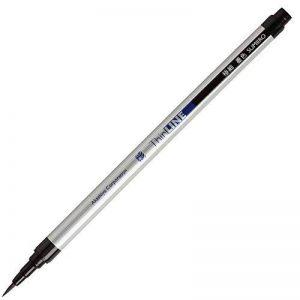Akashiya Sai Watercolor Brush Pen ThinLine - Black de la marque Akashiya image 0 produit
