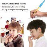 ANGTUO 4 PCS Enfant Crayon Toppers Chewable Pen Cap BPA Jouets de thérapie de dentition en Silicone gratuit de la marque ANGTUO image 3 produit