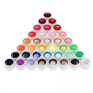 Anself Couleur 36 Nail Art Pigment Set UV Gel colle solide polonais de la marque Anself image 0 produit