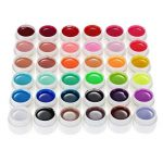 Anself Couleur 36 Nail Art Pigment Set UV Gel colle solide polonais de la marque Anself image 4 produit