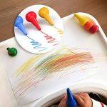 Anteel Peinture au Crayon, Doigt Crayons pour des Gamins, 12 Couleurs 3D Peindre Crayons pour les Enfants, les Garçons et les Filles, Sécurité de la marque Anteel image 5 produit