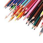AOLVO professionnel Crayons aquarelle Lot de 48pcs haute qualité Multi Crayons de couleur pour les adultes, artistes, Sketchers, d'art pages–Estompeur et taille-crayon Dos de la marque AOLVO image 2 produit