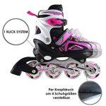 Apollo Super Blades X Pro, taille réglable de 31 à 38, roues LED illuminées rollers pour enfants idéals pour débutants, patins à roulettes confortables patins Inline pour filles et garçons de la marque Apollo image 2 produit