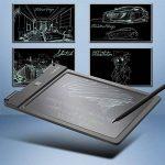 Ardoise Graphique d'Écriture LCD – Daffodil WT100 – Tablette 9'' Noir Numérique Digital - Tableau Électronique Écologique avec Stylo Double Sens Effaçable avec Protection Anti-Effacement de la marque Daffodil image 3 produit