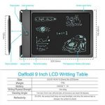 Ardoise Graphique d'Écriture LCD – Daffodil WT100 – Tablette 9'' Noir Numérique Digital - Tableau Électronique Écologique avec Stylo Double Sens Effaçable avec Protection Anti-Effacement de la marque Daffodil image 4 produit