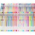 Ariel-gxr stylos gel - Lot de 48 Billes à Encre Gel Multicolore (avec Couleur Métallique Glitter Néon WaterChalk) pour Ecrire et Dessiner de la marque ariel-gxr image 2 produit