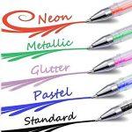 Ariel-gxr stylos gel - Lot de 48 Billes à Encre Gel Multicolore (avec Couleur Métallique Glitter Néon WaterChalk) pour Ecrire et Dessiner de la marque ariel-gxr image 4 produit
