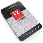 Arteza Crayon Pour Dessin Professionnel, Set Crayons Papier Pour Croquis, Moyen, Boite Métal (Lot de 12) de la marque ARTEZA® image 5 produit