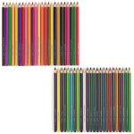 Arteza Crayons de Couleur Bois - Parfait Pour Coloriage Adulte - Mine Souple - Forme Triangulaire - Pré-Aiguisé (en Tube de 48) de la marque ARTEZA® image 2 produit