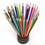 Arteza Crayons de Couleur Bois - Parfait Pour Coloriage Adulte - Mine Souple - Forme Triangulaire - Pré-Aiguisé (en Tube de 48) de la marque ARTEZA® image 4 produit