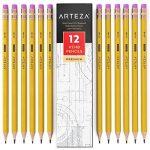ARTEZA Crayons en Bois-HB N°2- Pré-Aiguisés - Gommes Sans Latex - (Boîte de 72) de la marque ARTEZA® image 1 produit