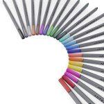 Arteza Feutres à pointes fines pour coloriage - Stylos Fineliner 0.4mm - 24 couleurs uniques - Encre à base d'eau - Lot de 24 de la marque ARTEZA® image 1 produit