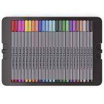 Arteza Feutres à pointes fines pour coloriage - Stylos Fineliner 0.4mm - 24 couleurs uniques - Encre à base d'eau - Lot de 24 de la marque ARTEZA® image 2 produit