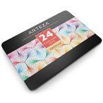 Arteza Feutres à pointes fines pour coloriage - Stylos Fineliner 0.4mm - 24 couleurs uniques - Encre à base d'eau - Lot de 24 de la marque ARTEZA® image 3 produit